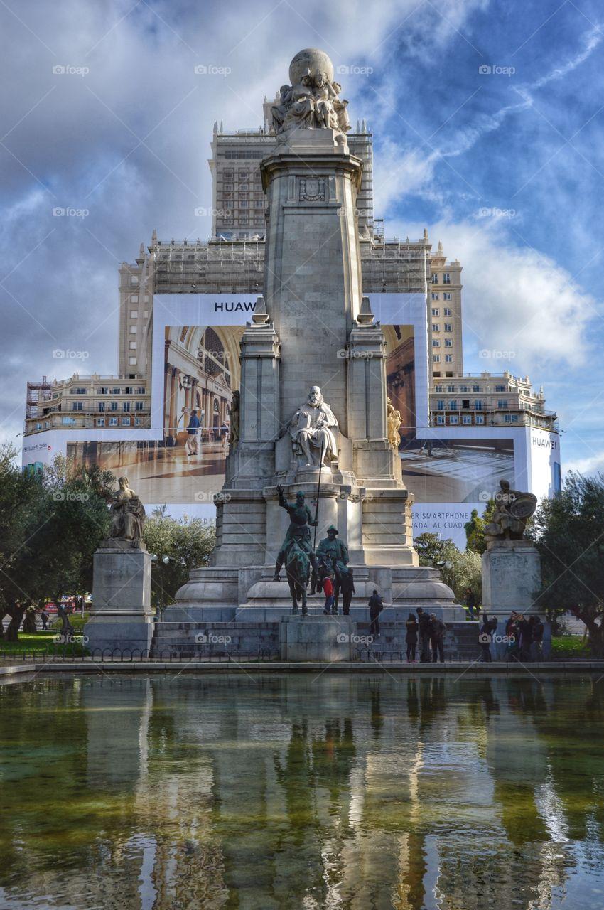 Plaza de España (Madrid - Spain)