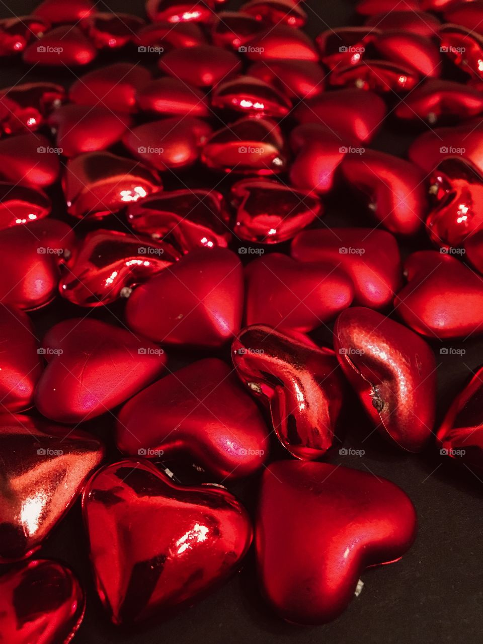 Red heart shape balloon