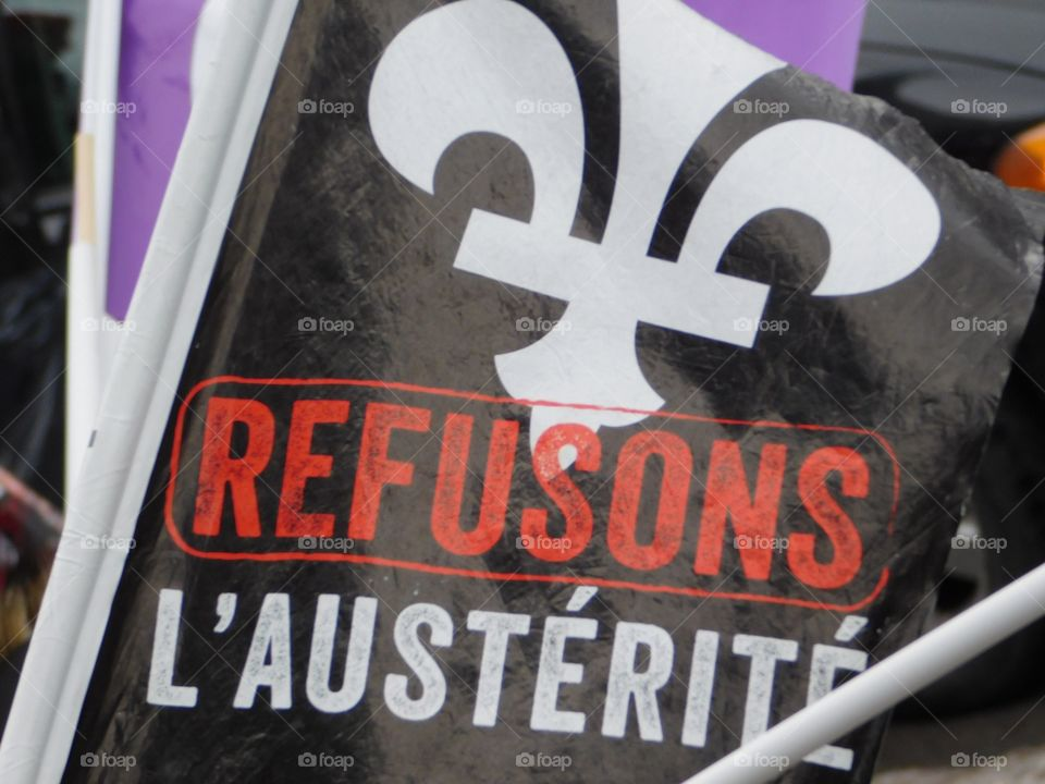 Refusons l'austérité