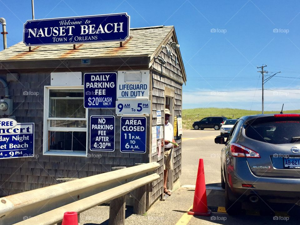 Entrance to Nauset Beach