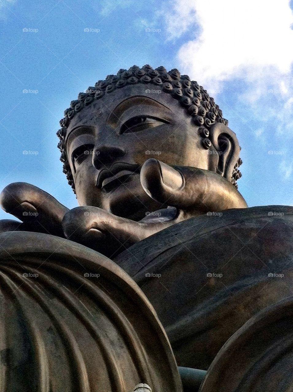 Tian Tan Buddha-Hong Kong