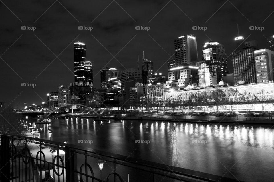THE CITY OF MELBOURNE AUSTRALIA
