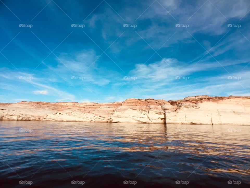 Lake Powell page Arizona USA