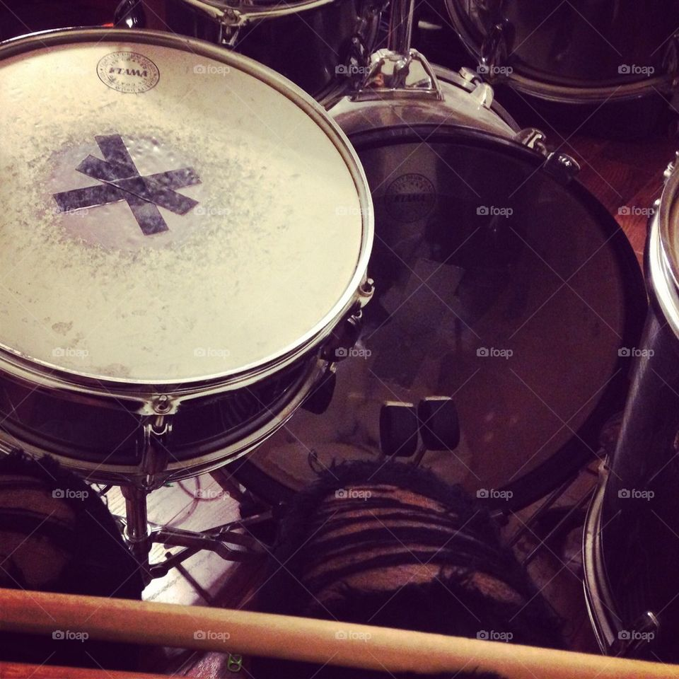 Foap com: Learning the Drums  stock photo by amydencro