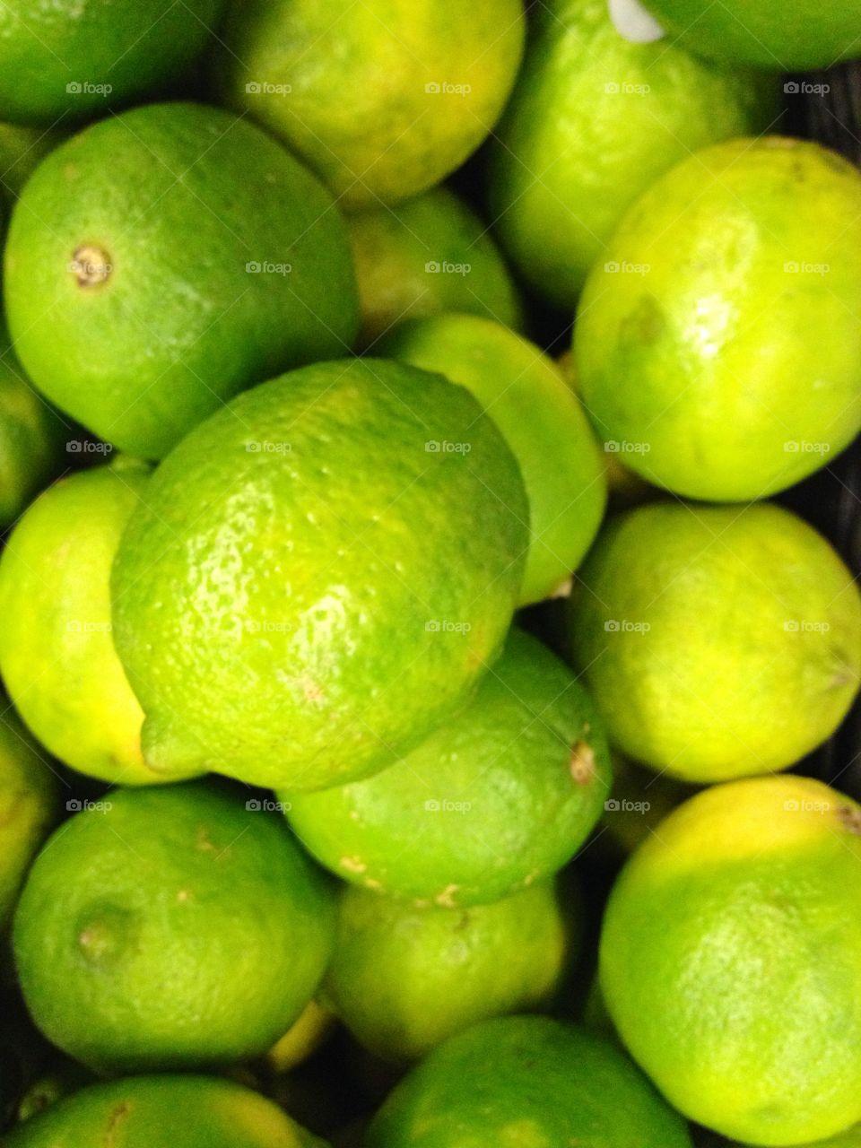 Full frame of lemon