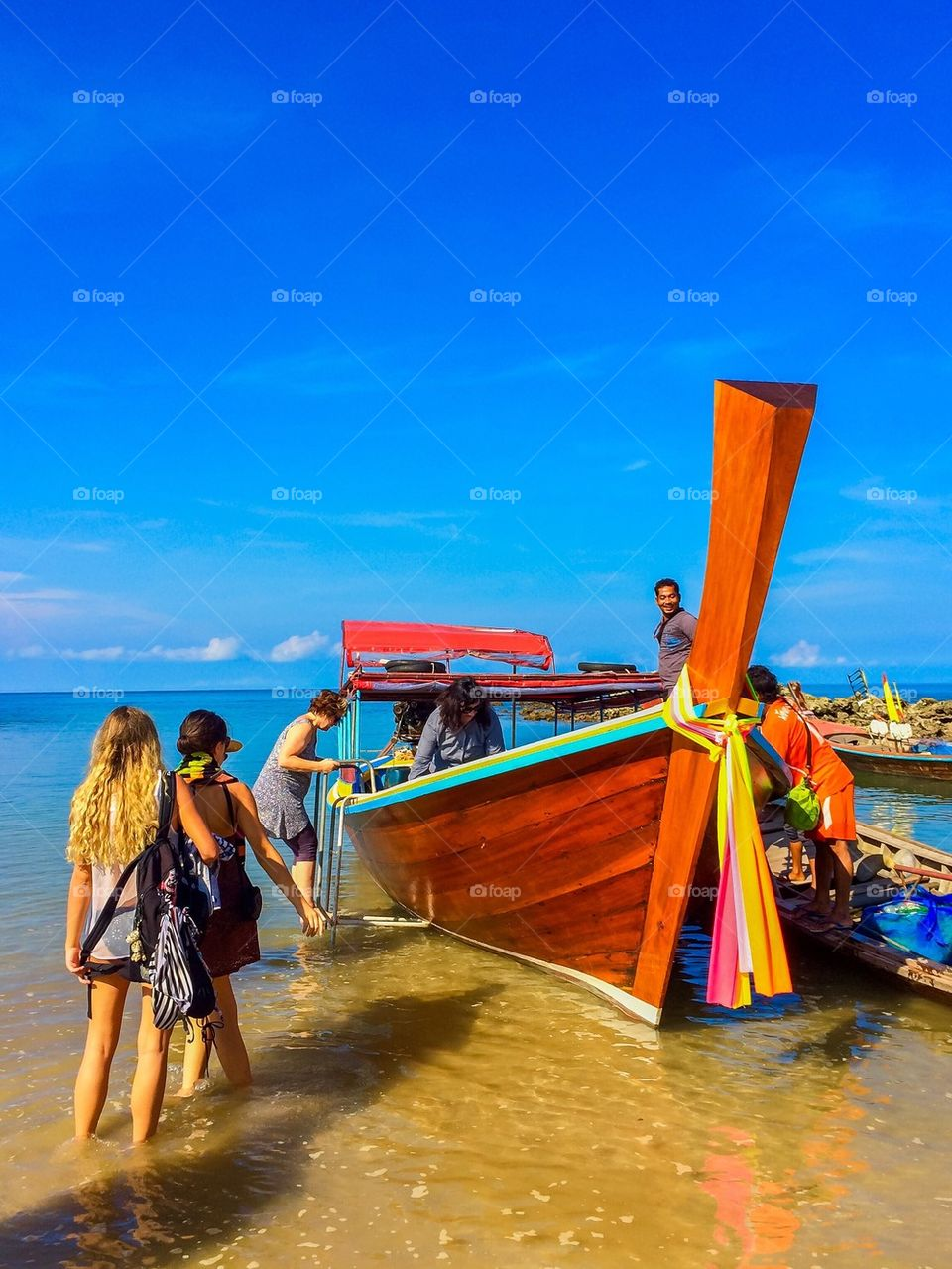 Trip in Thailand   image, ocean, travel, boats
