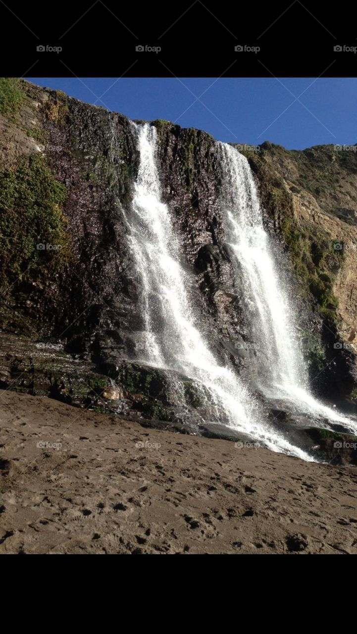 Point Reyes water fall