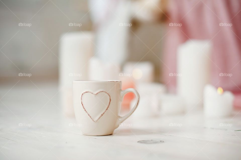 Coffee, No Person, Indoors, Table, Cup