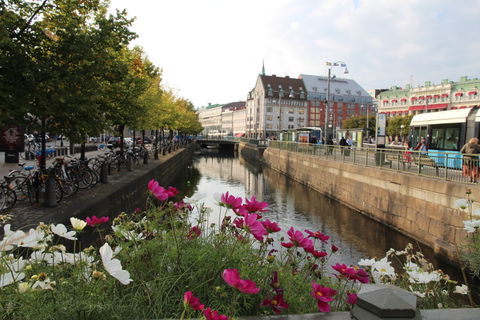 City of Gothenburg, Sweden - canal by Drottningtorget -  kanal Göteborg