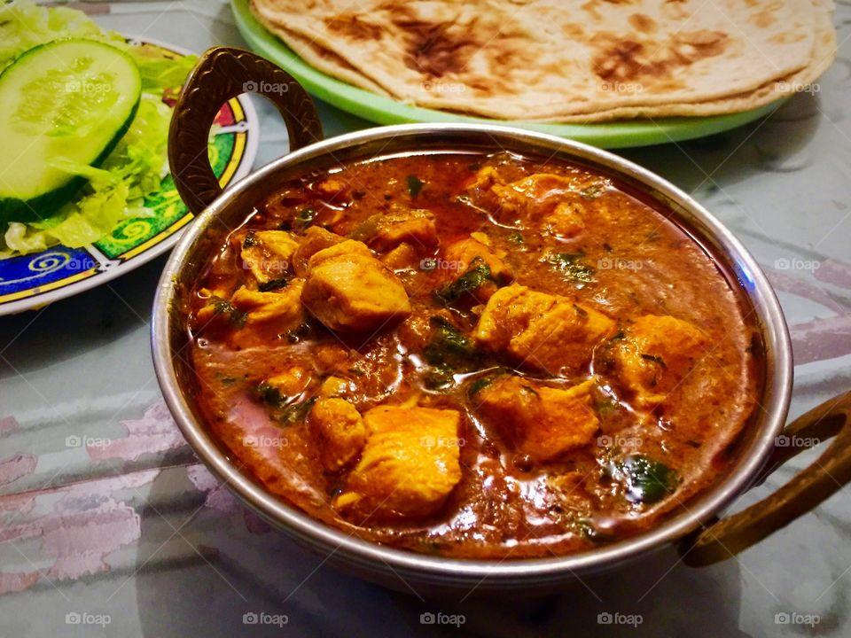 Curry tonight