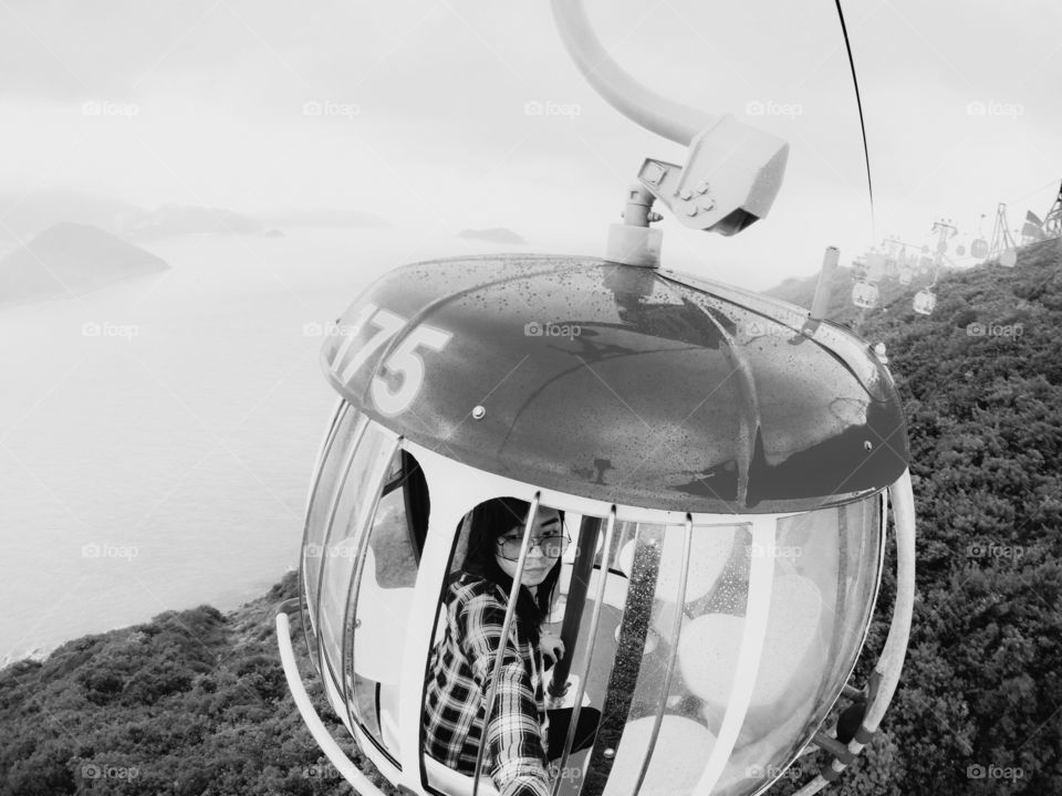 Here's when I did solo travel in Hongkong and riding the cable car alone! It was my first solo international travel! Made me so happy! I miss solo traveling!