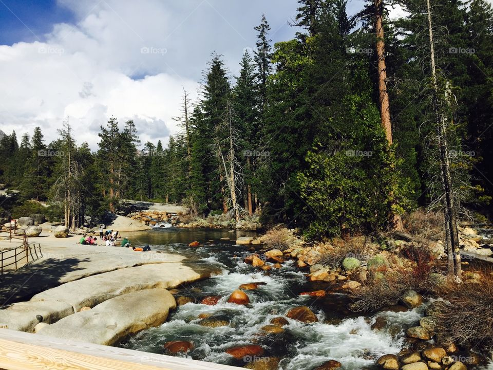 Yosemite hike