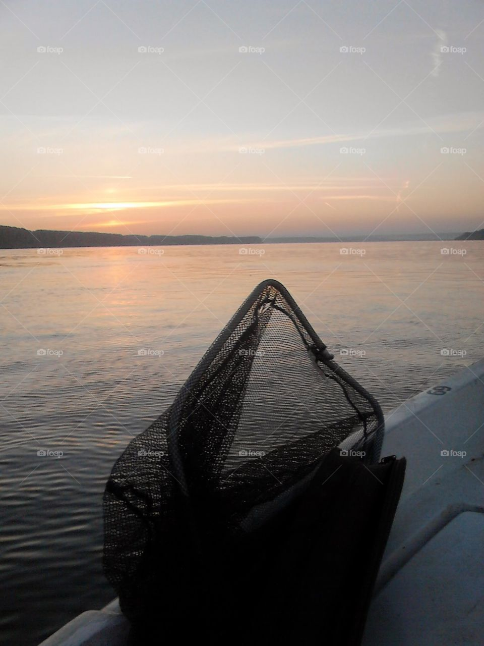 Danube. Going fishing..