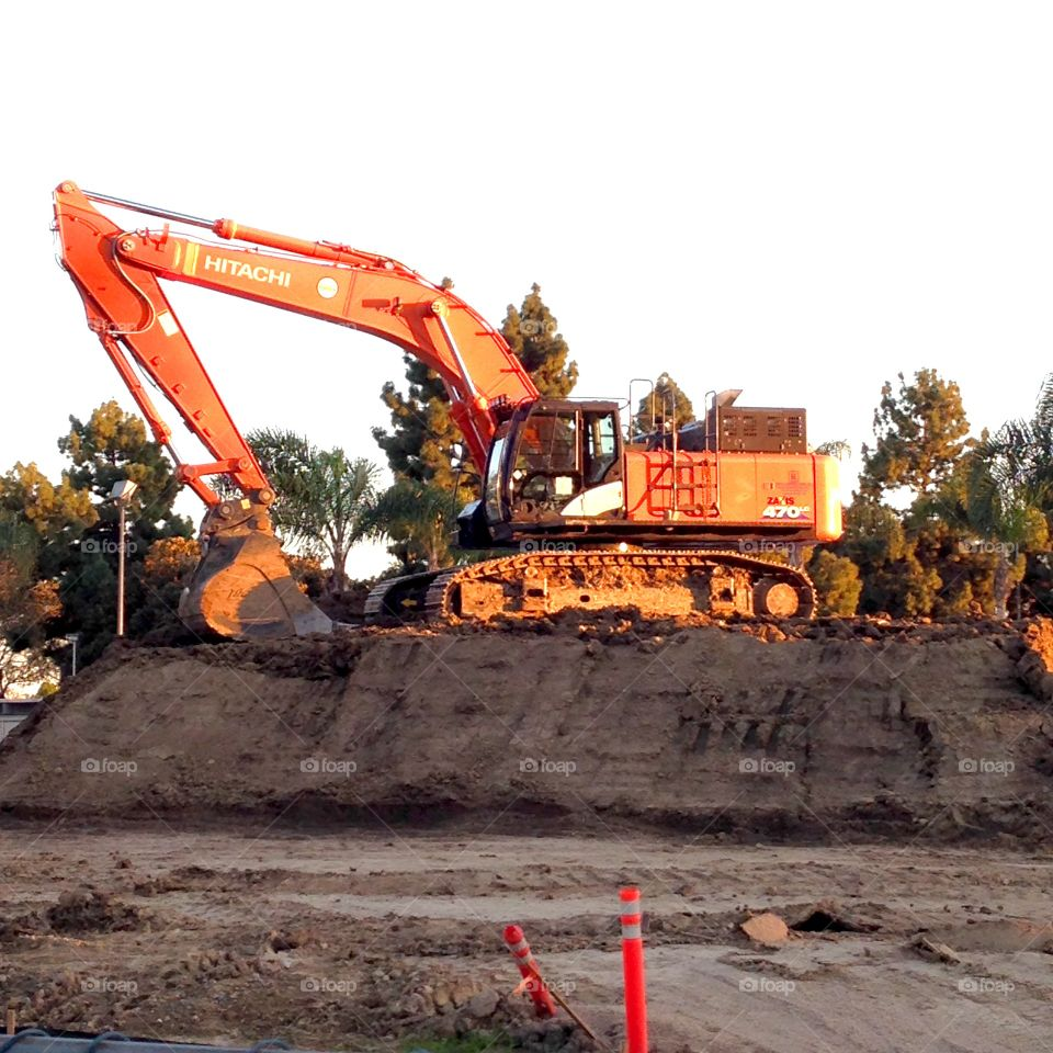 Park Excavation In Lakewood California   Published by: HappyBrownMonkey