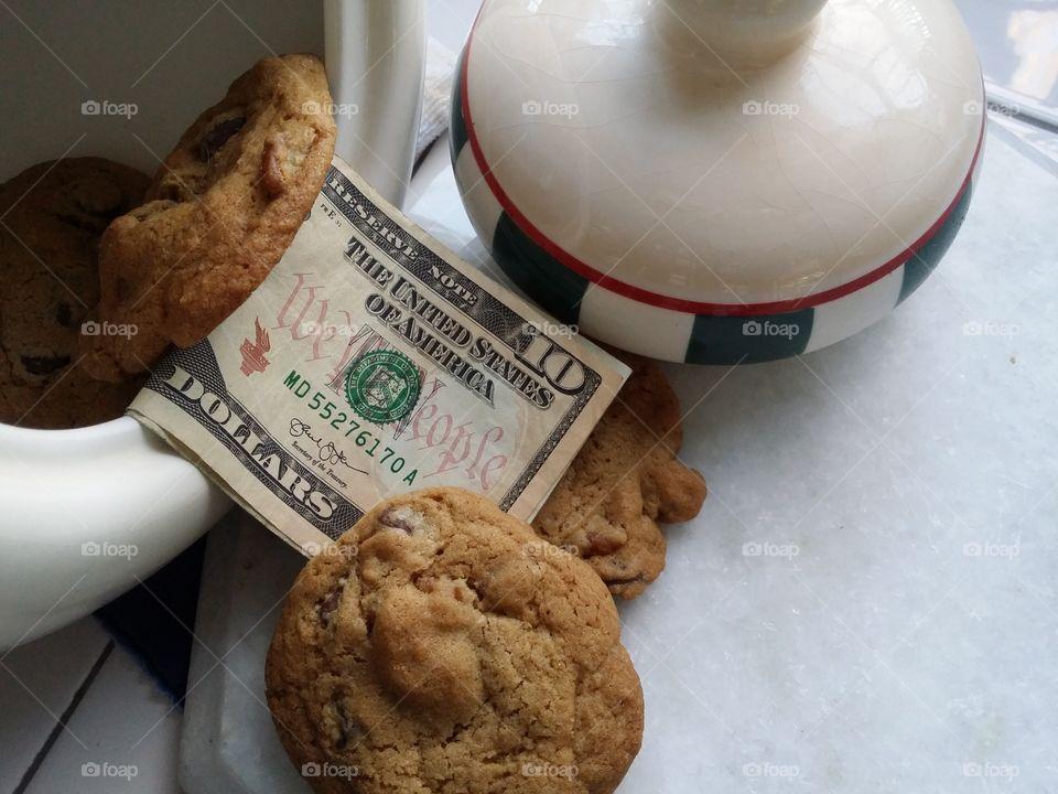 Money in the Cookie Jar