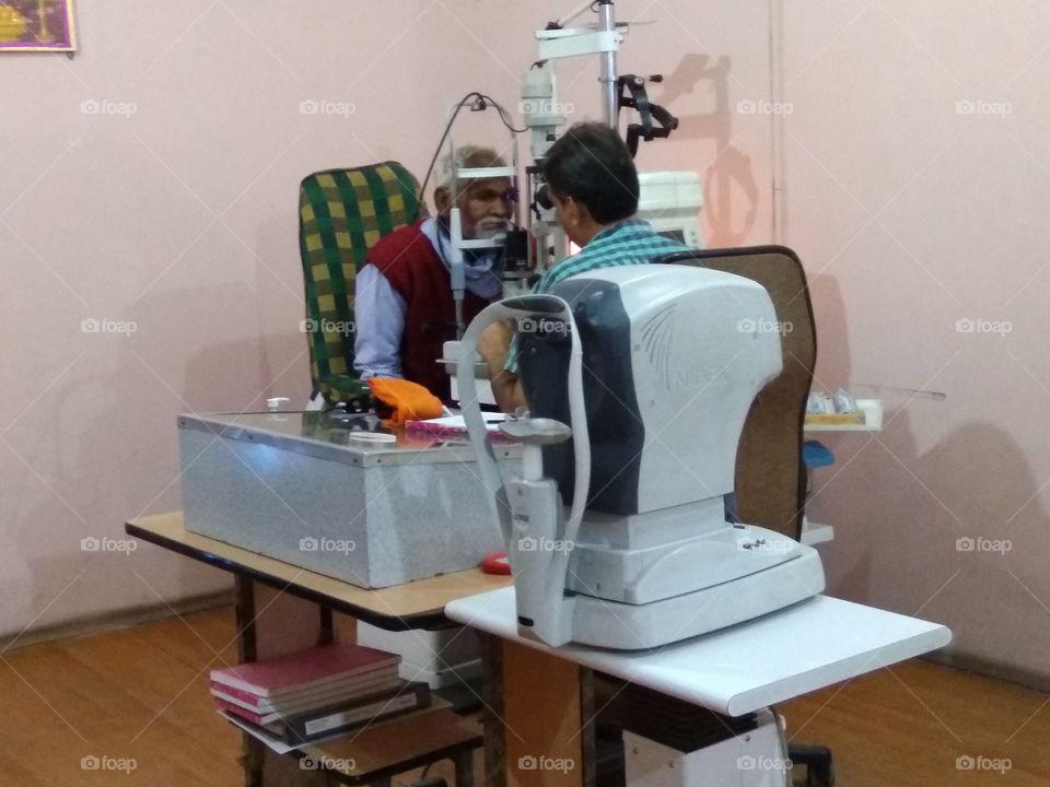 eye doctor treatment