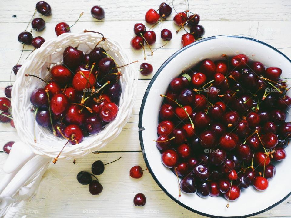 cherry season, summer 2018