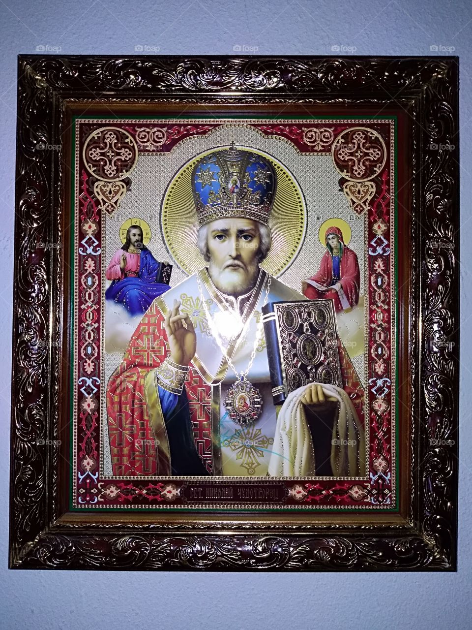 icon of Saint Nicholas