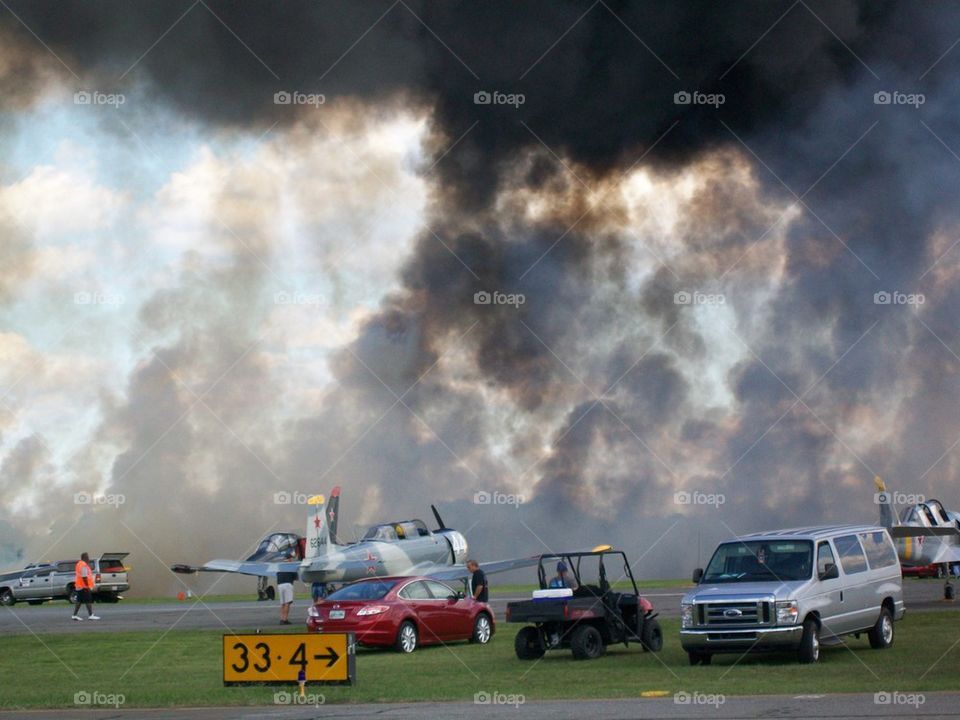 Airshow Pyrotechnics