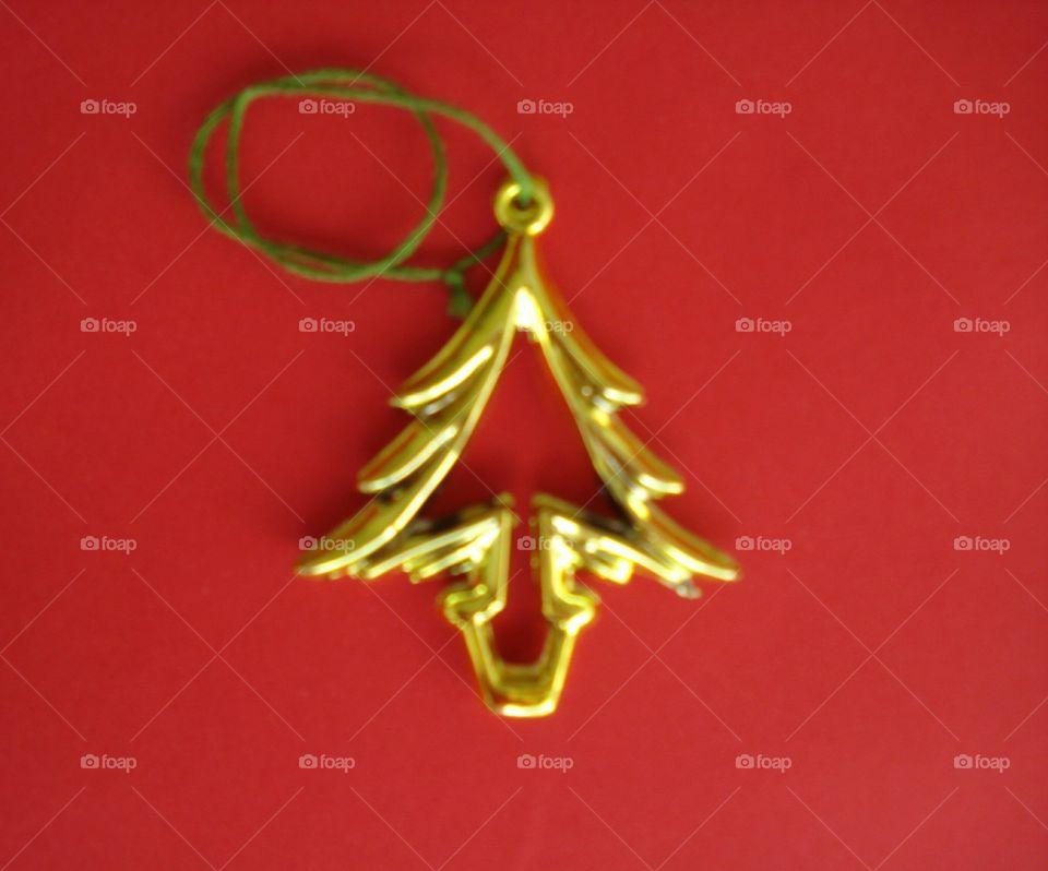 A Small Christmas Tree Decoration