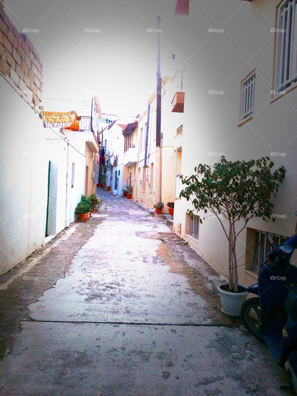 No Person, Architecture, Street, Alley, House