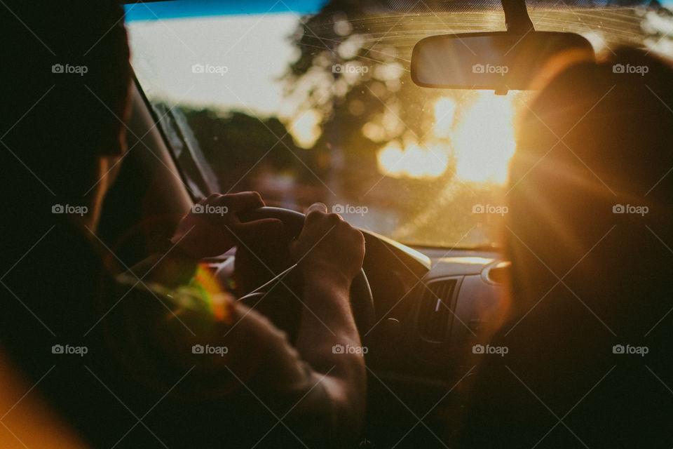 Blur, People, Vehicle, Car, Transportation System