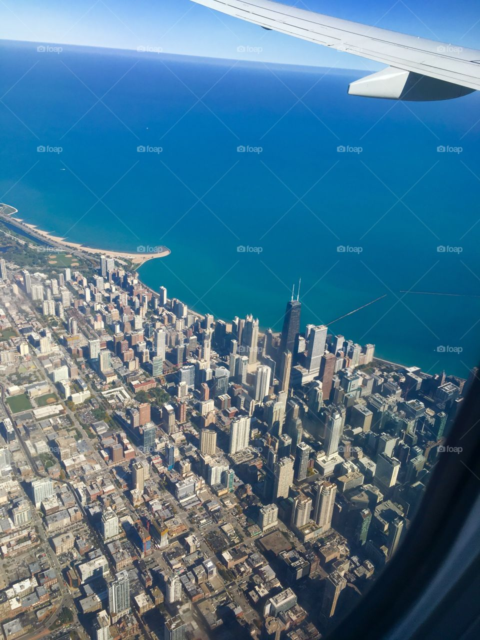 One more of Chicago from above.