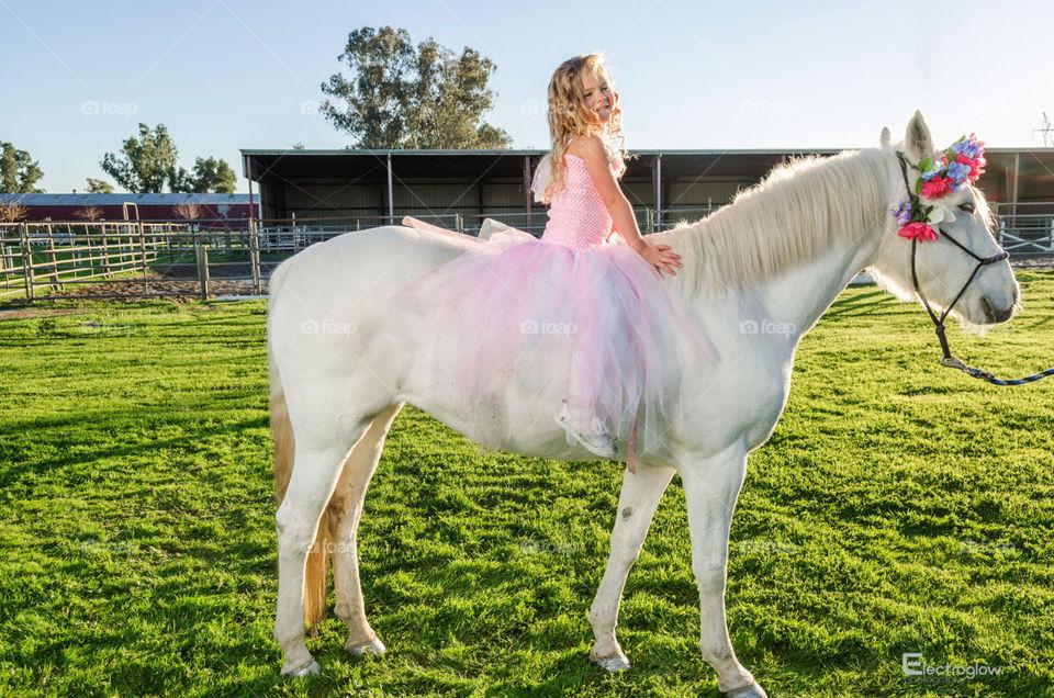 Horse princess