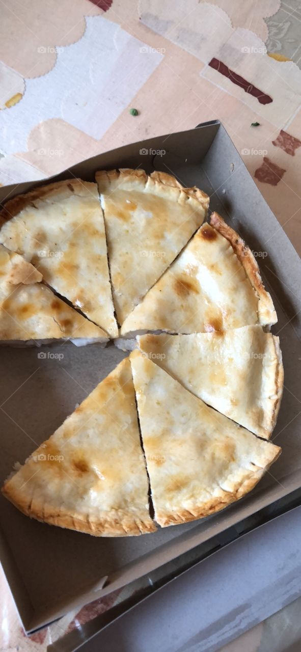 Its the food originally made from bohol  buko pie
