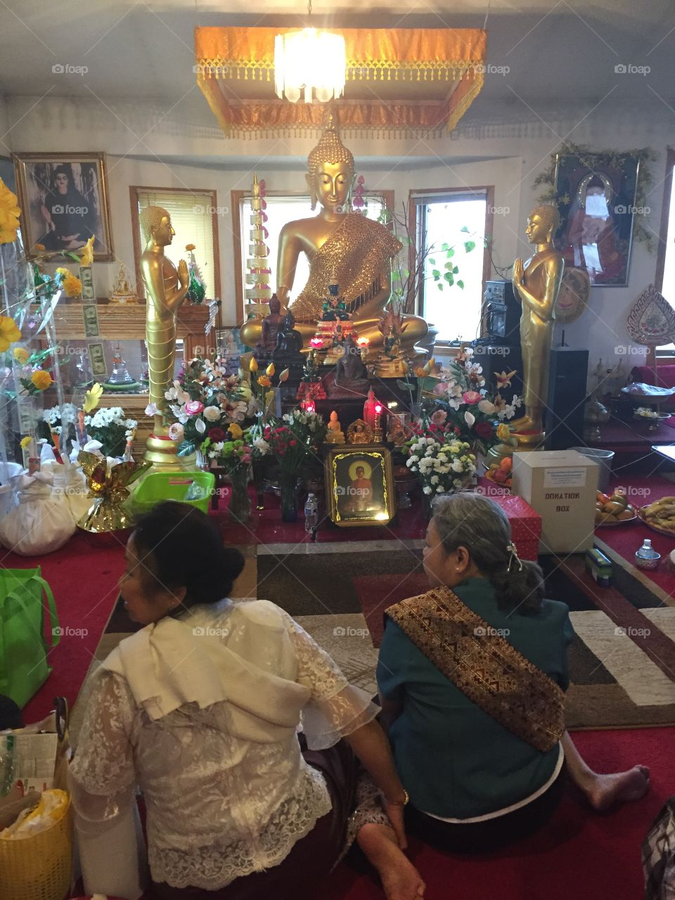 Buddhist meditation center. Beautiful center I went to in MN so peaceful