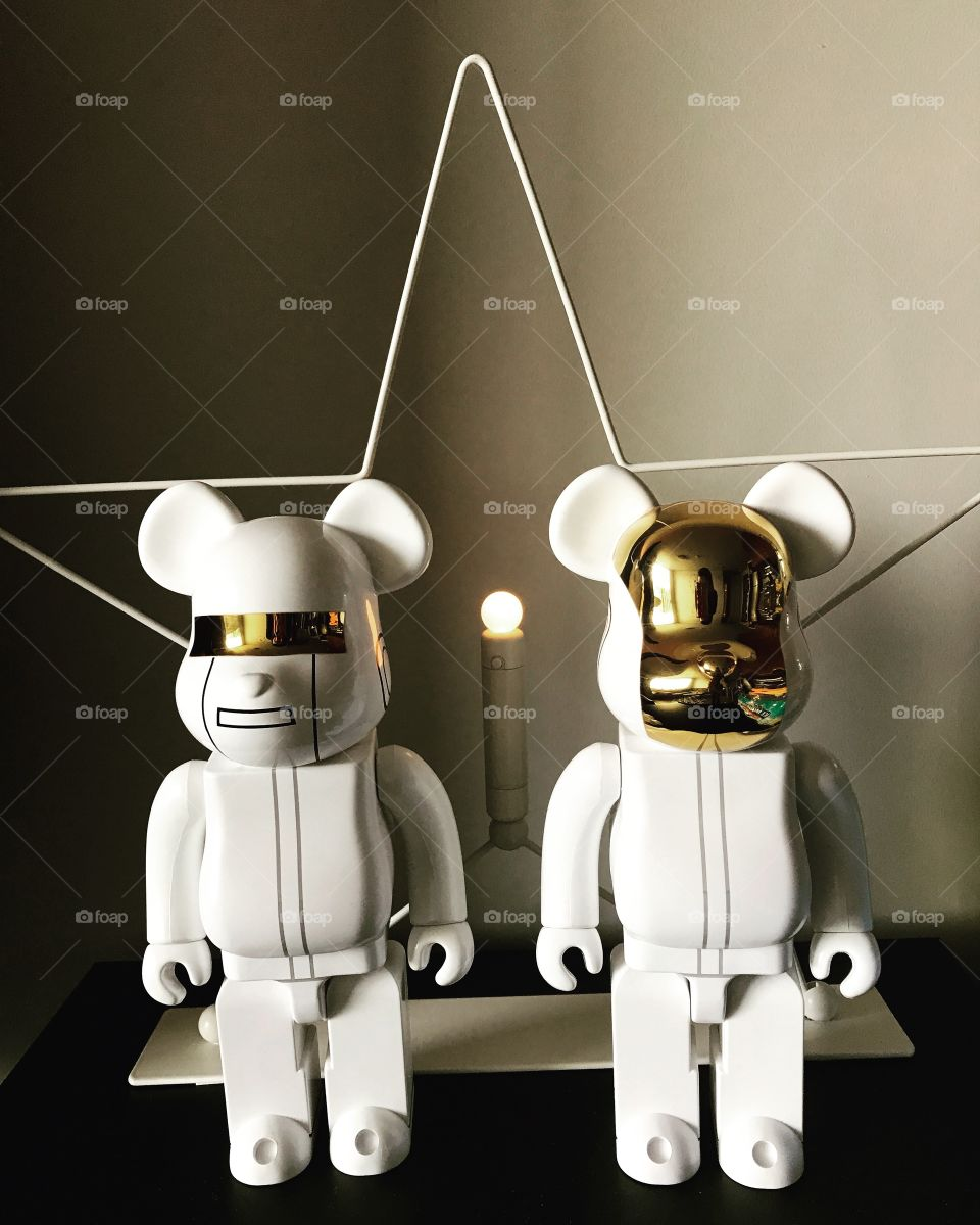 Home interior collection bearbrick