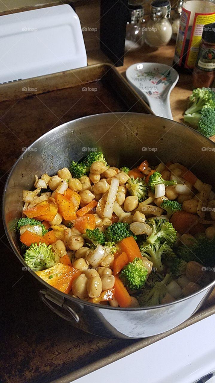 Food, Vegetable, Cooking, Meal, Bowl