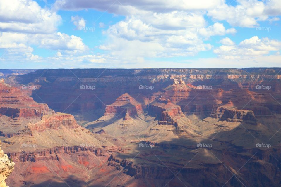 Scenic view of grand canyon national park