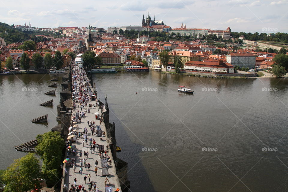 Praha. Karlův most