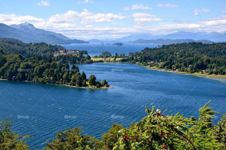 Bariloche views Nahuel Huapi Lake
