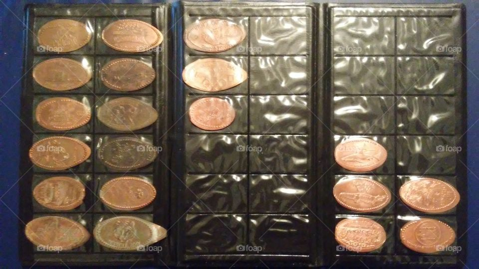 My Pressed Pennies Collection-Jan 2019