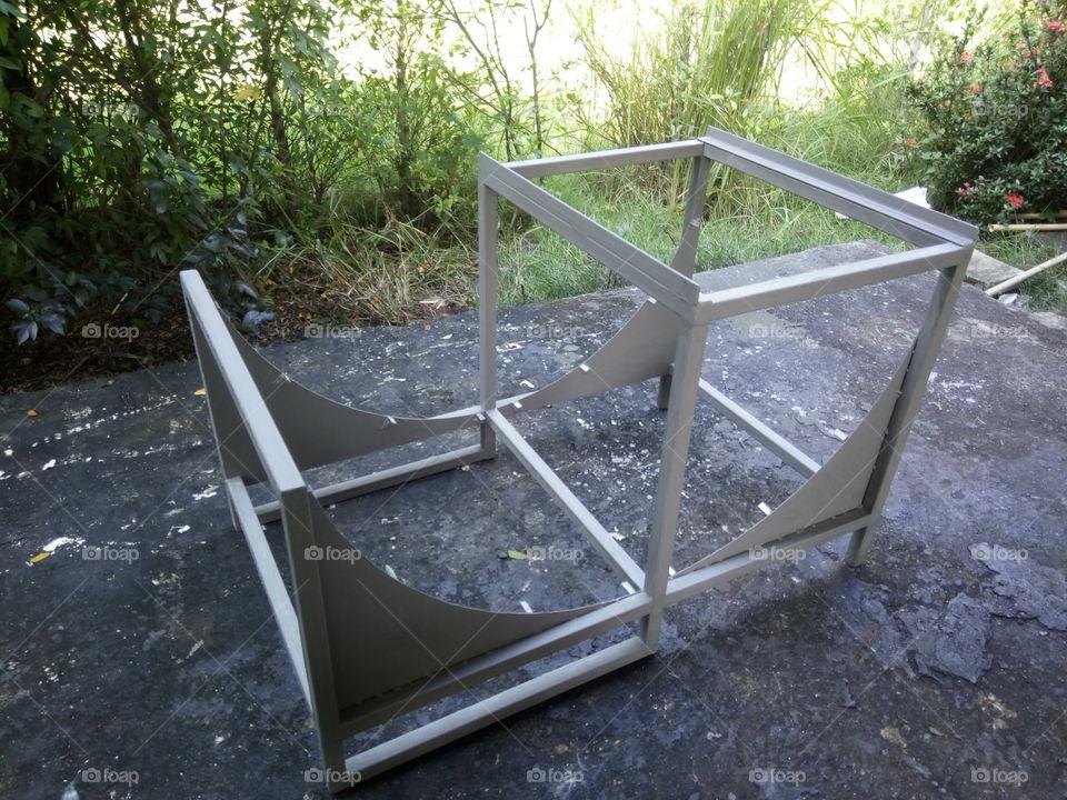Structure of solar dryer.  โครงเครื่องอบแแห้ง