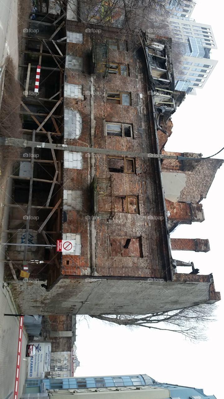 old building slums