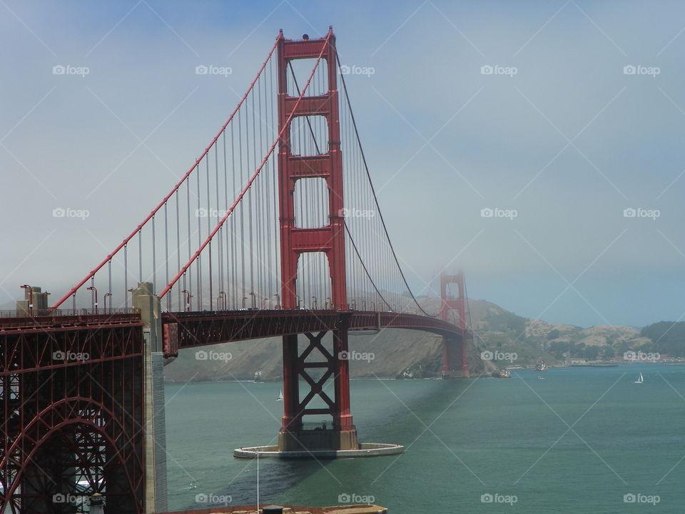 San Francisco CA - Golden Gate Bridge