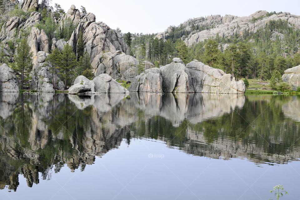 Reflections on a Lake