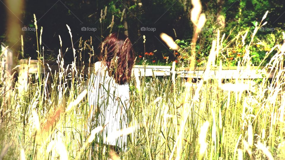 Girl in the field Pt. 2
