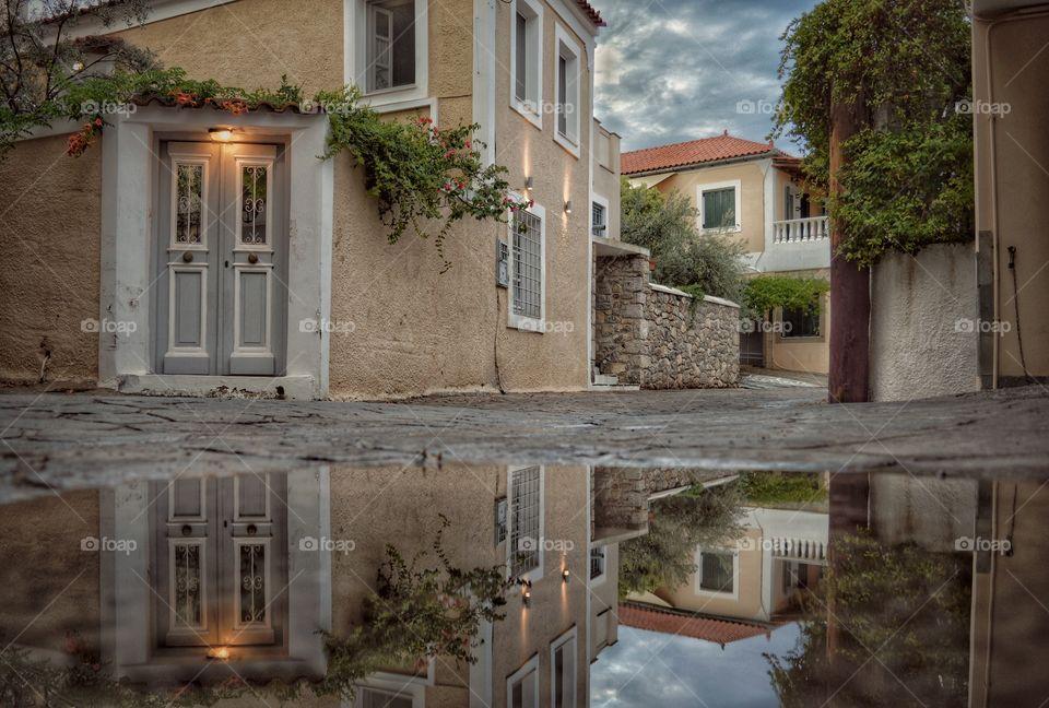greece greek house street village color hd hq hc lost nikon