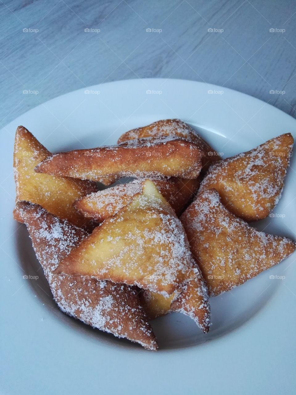 frish homemade sweet doughnuts