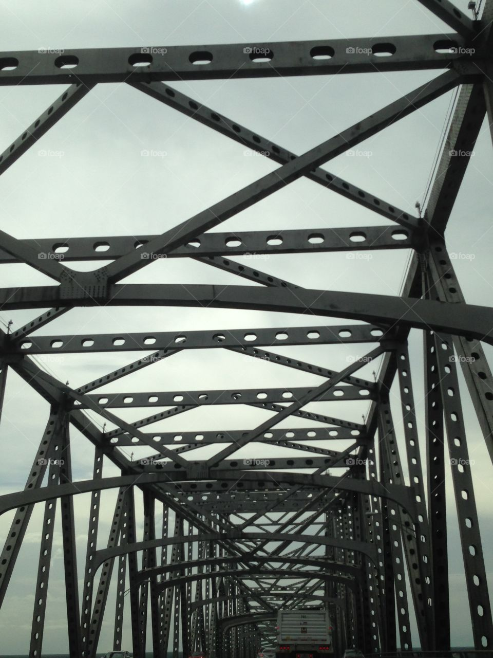 Bridge over Mississippi River in Baton Rouge