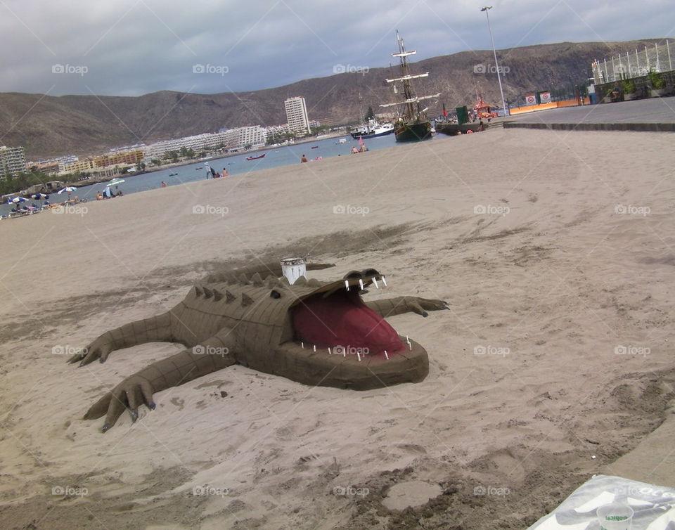 Sand crocodile