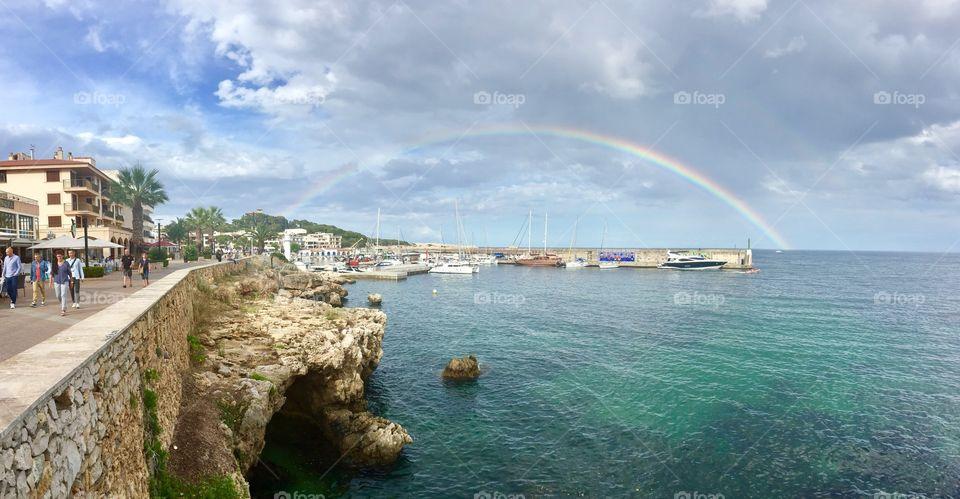 Rainbow mallorca