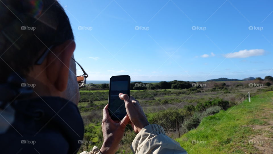 Using technology in nature, mobile photography