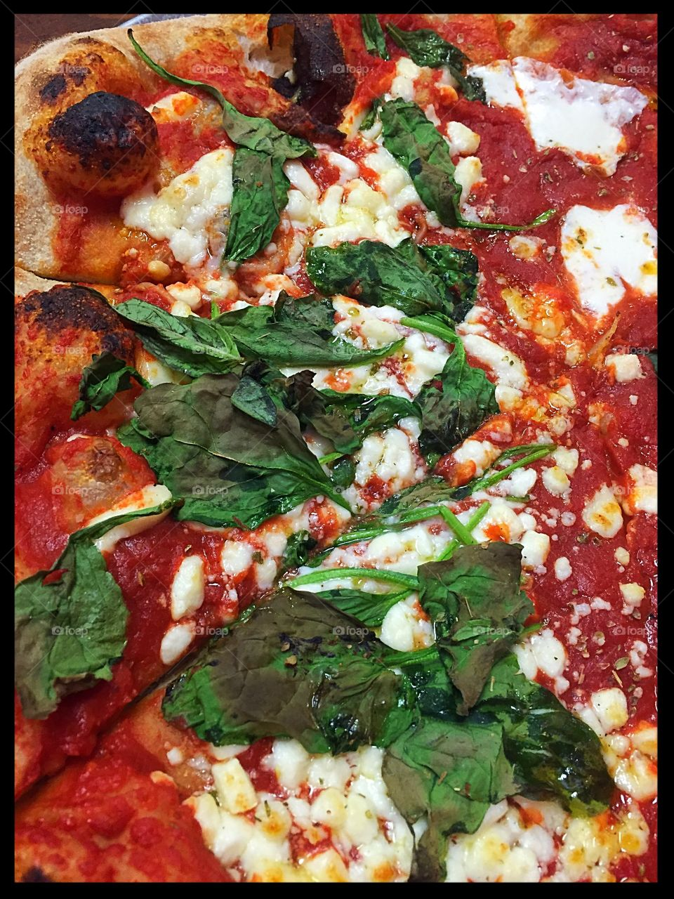Delicious, hot, mouth watering pizza