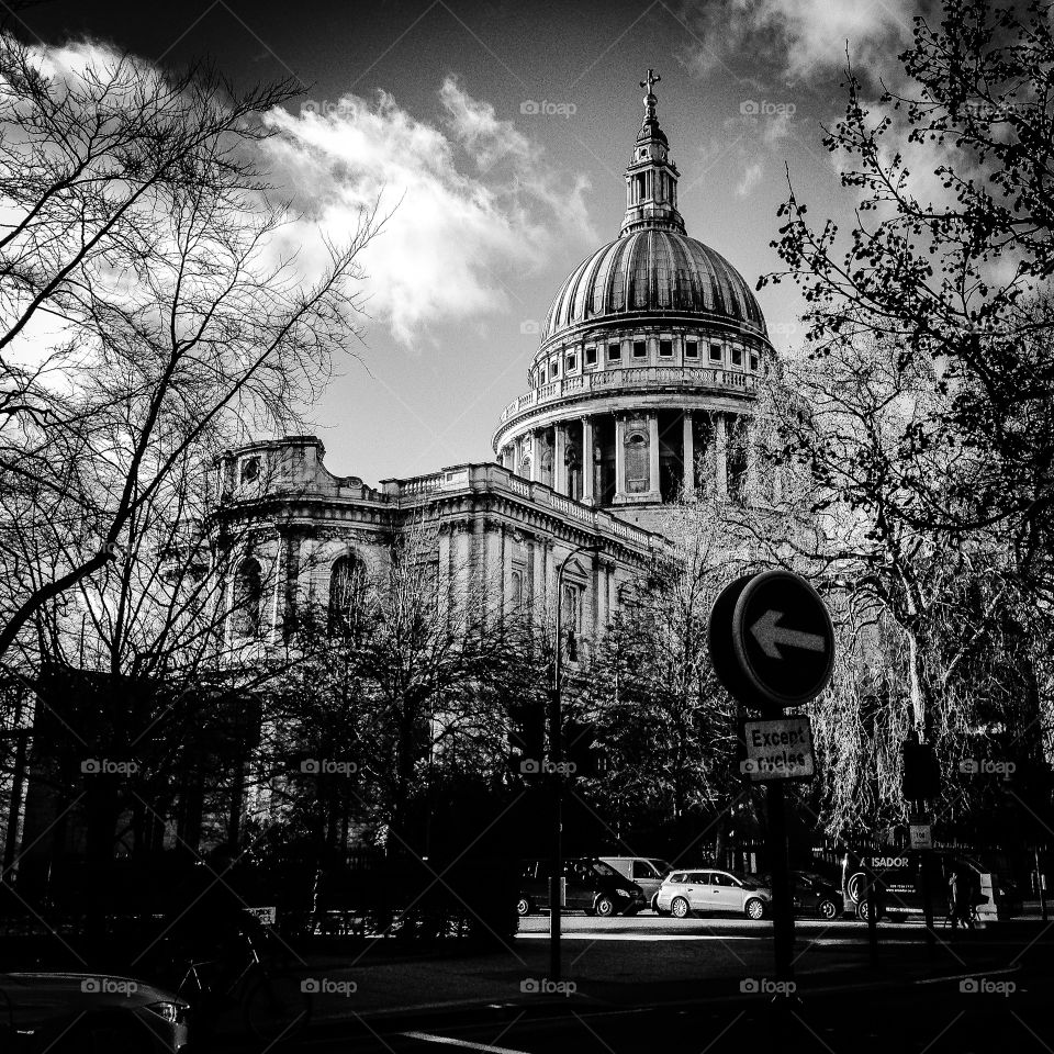 St Pauls. Cathedral in London