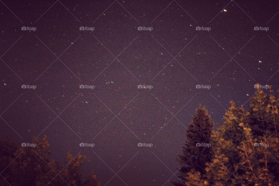 First attempt at photographing the stars